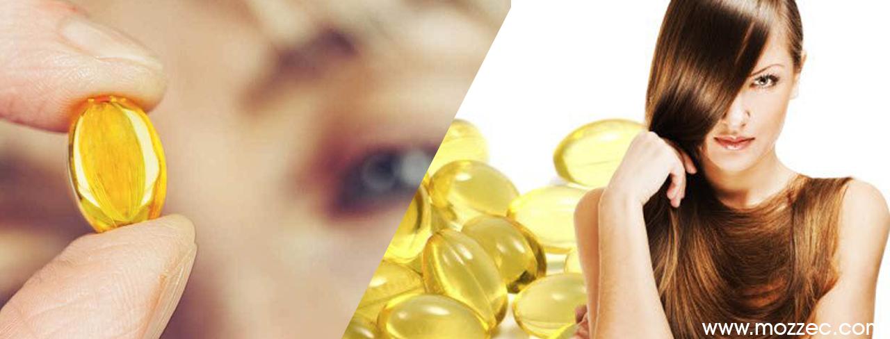 fish oil hair eyes