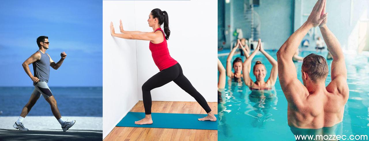 rheumatoid arthritis walking stretching exercises water aerobics