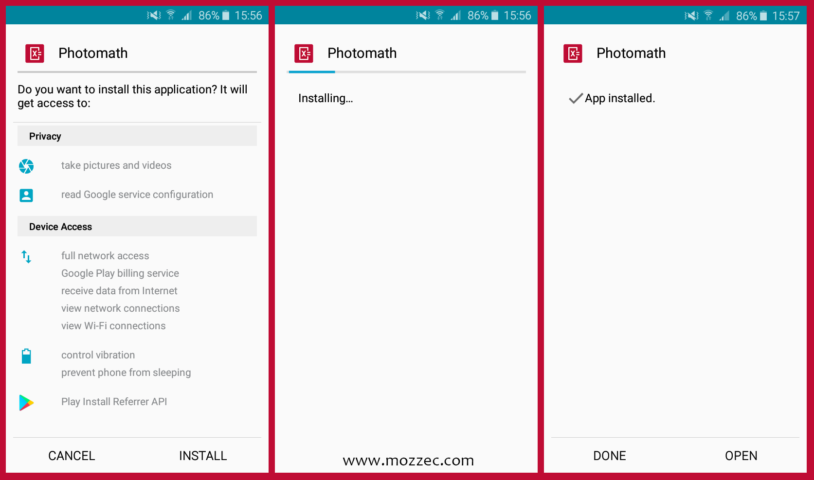 photomath install for android