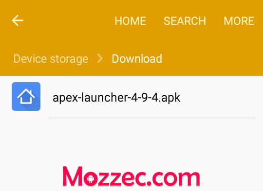 apex launcher download
