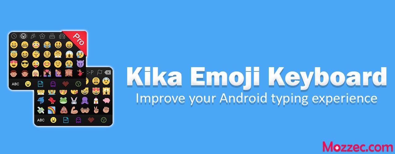 kika emoji keyboard