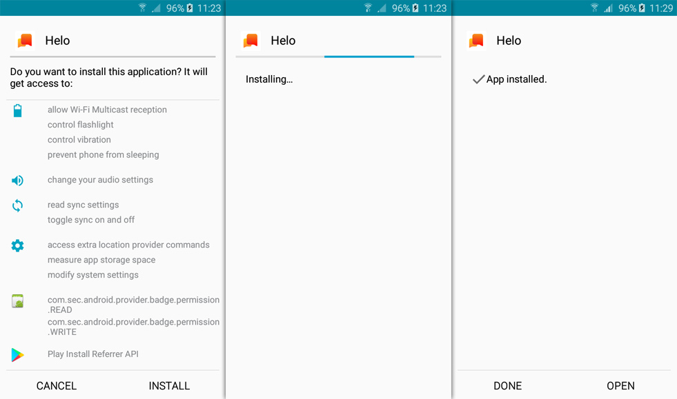 helo apk for android