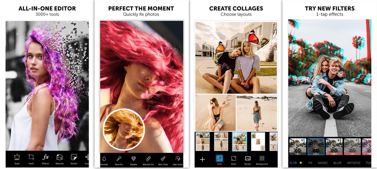 picsart apk features