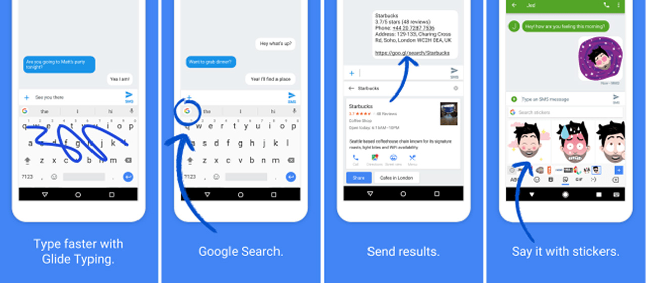 gboard apk features