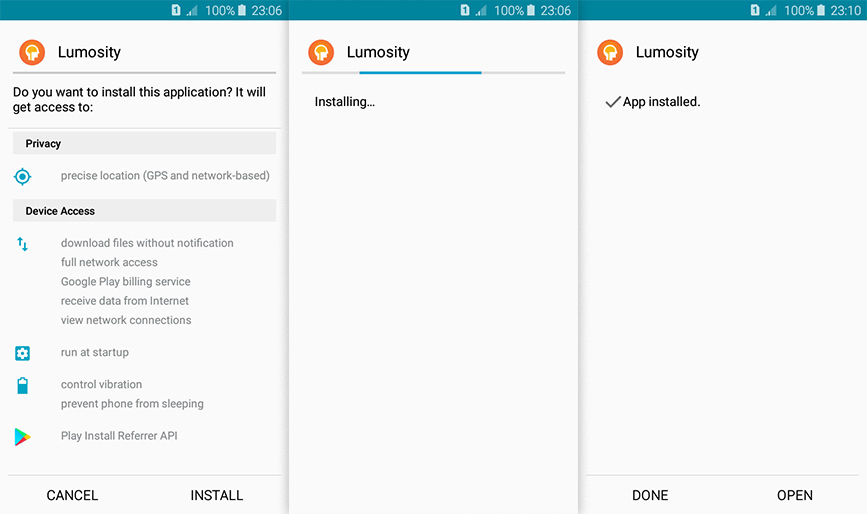 lumosity for android