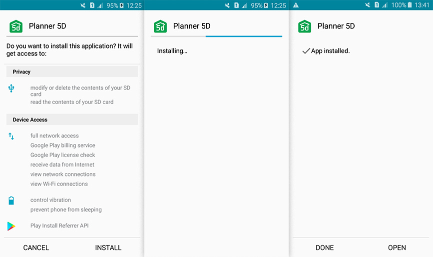planner 5d for android